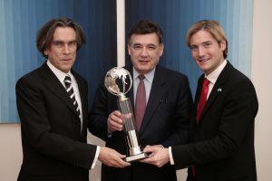 Sustainable Future Award, Botschafter Emil Brix, US State Senator Marc Pacheco, Außenministerium Wien